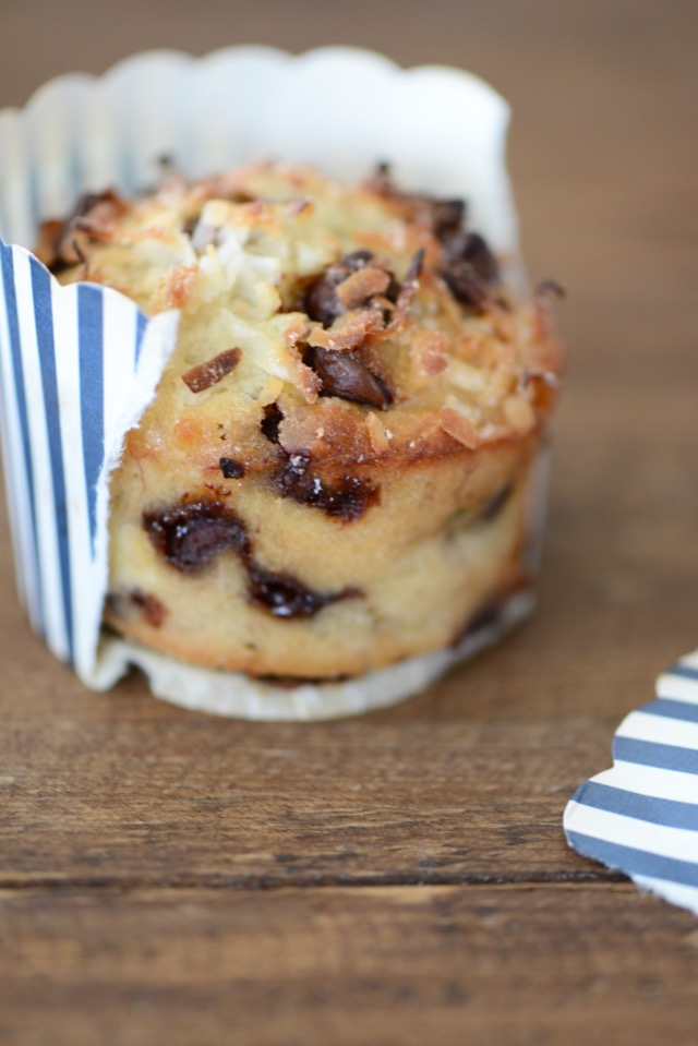 Banana Coconut Muffin Recipe, delicious for breakfast with coffee M Loves M @marmar