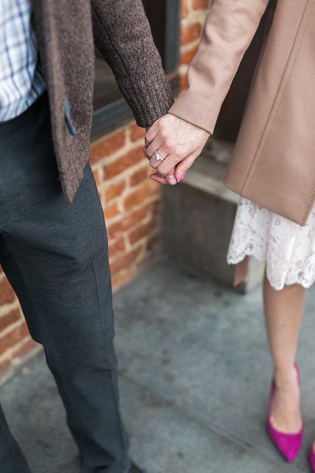hand in hand blogger couple style M Loves M