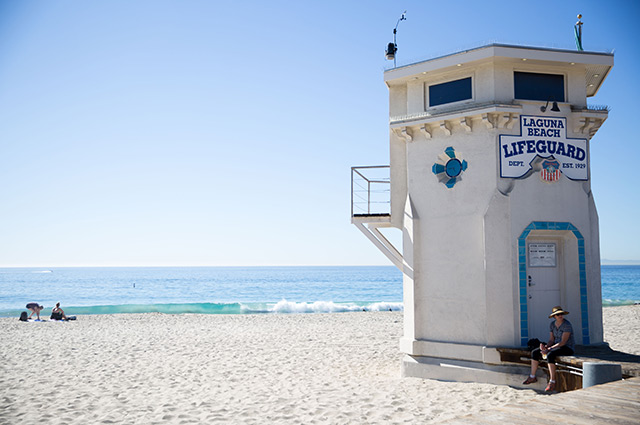 Laguna Beach boardwalk by M Loves M