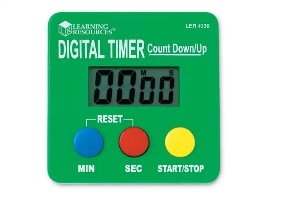 Digital timer homeschooling