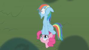 Pinkie Found Rainbow Dash