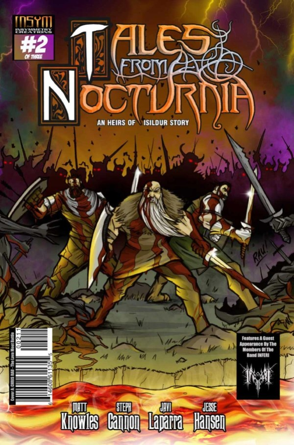 Tales from Nocturnia #2: Insymmetry Creations, creative team: Steph Cannon, Matt Knowles, Javi Laparra, Jesse Hansen
