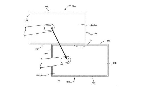 Nintendo Files a New Patent on Multi-Display Communication