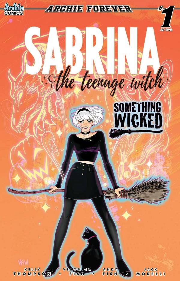 Bubble, bubble, too much toil and brief looks at the trouble, the spell of the new volume of Sabrina the Teenaged Witch of magical madness fails to enchant.