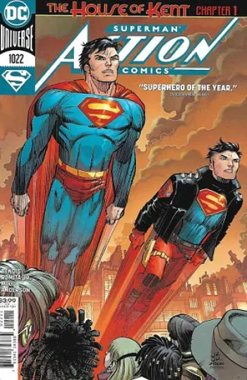 Action Comics #1022 Main Cover