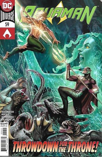 Aquaman # 59 Couverture principale
