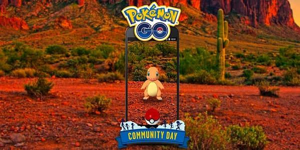 Charmander Community Day promotional image in Pokémon GO. Credit: Niantic