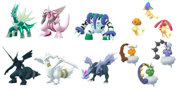 Shiny Legendary Pokémon That Have Yet To Be Released In Pokémon GO