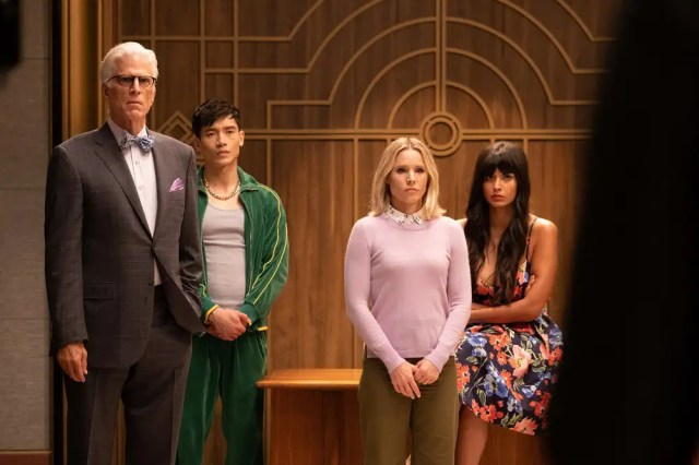"the good place season 4 11 - The Good Place (S04E10) ""Chapter 49: You've Changed, Man"""