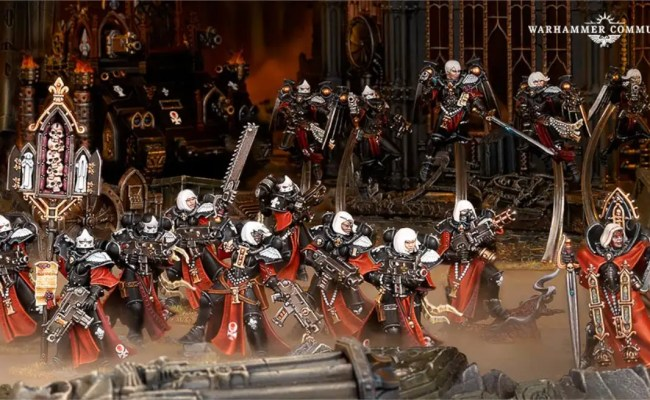 Warhammer 40k Sisters Of Battle In Action