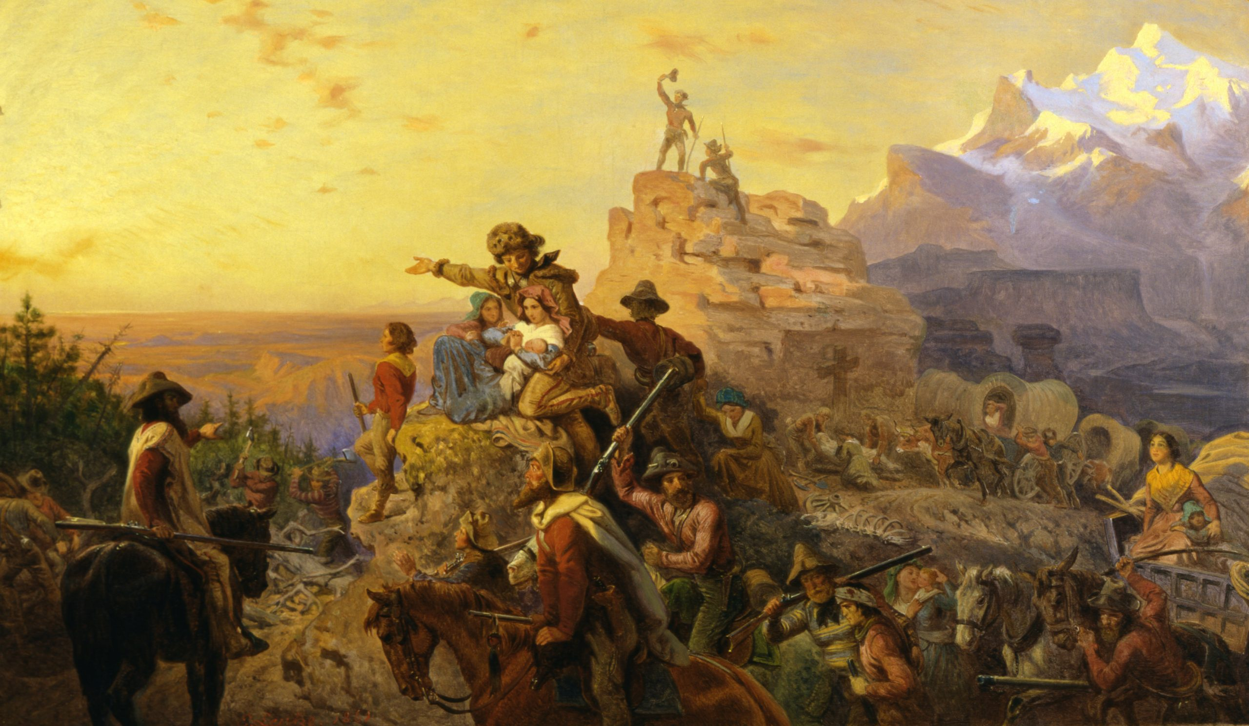 The West And Empire Us History Ii Gilded Age To Present