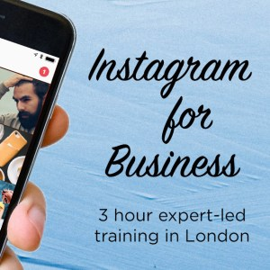 Instagram Training Workshop | MLPR | Marie Louise Pumfrey | Instagram Expert