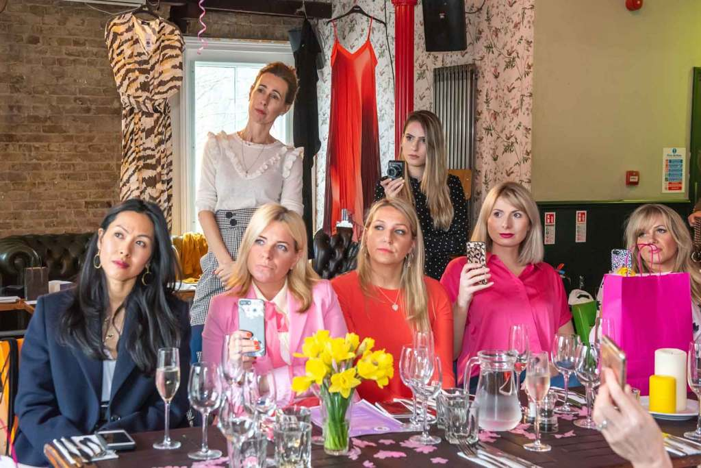 Instagram fashion bloggers at the #Mystyleessential Smart Works lunch | MLPR