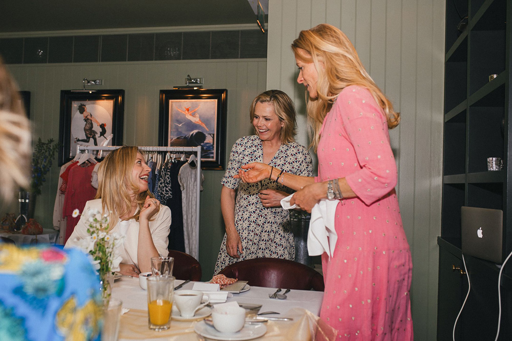 Liz Earle and Lucy Macnamara | Aspiga launch | ethical fashion | Sustainable fashion |