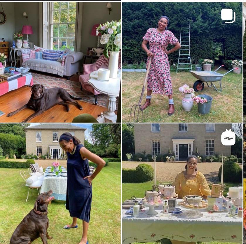Hill House Vintage Instagram profile