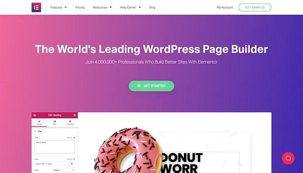 Elementor Web Sitesi