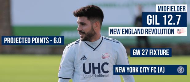 2019 Round 27 Captain's Conundrum - MLS Fantasy Boss