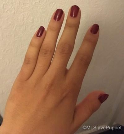 wear nail polish 10 days