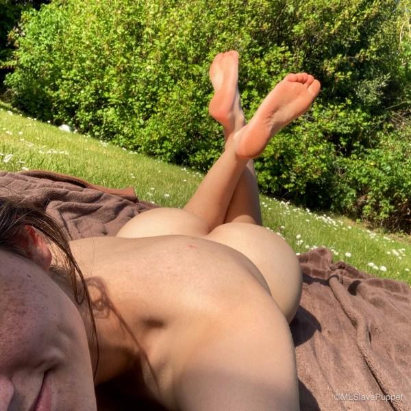 Naked Sunbathing