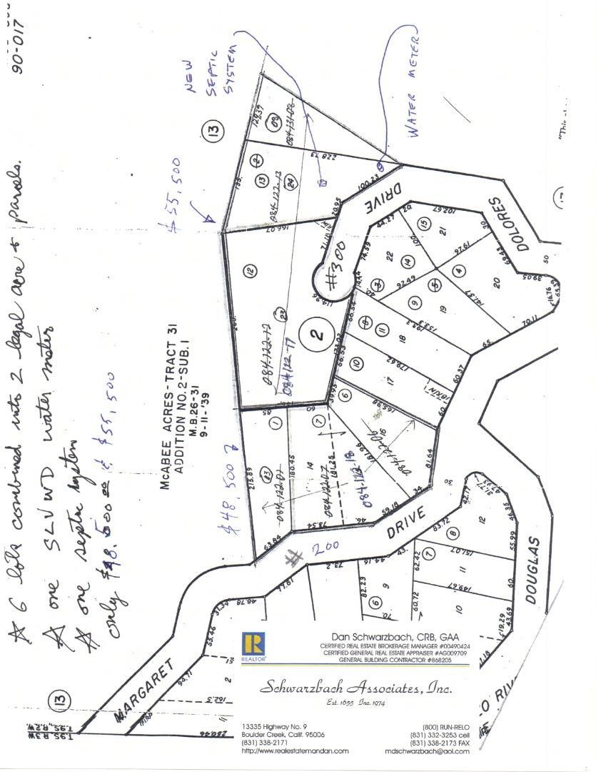 Address Not Disclosed, Boulder Creek, CA 95006 -