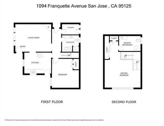 1092 Franquette Ave, San Jose, CA 95125 - – Beds  