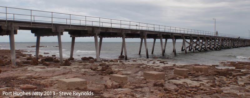 Port Hughes Jetty 2013 - Steve Reynolds