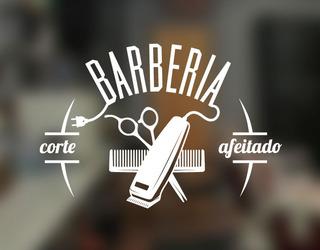 logo de barberia en