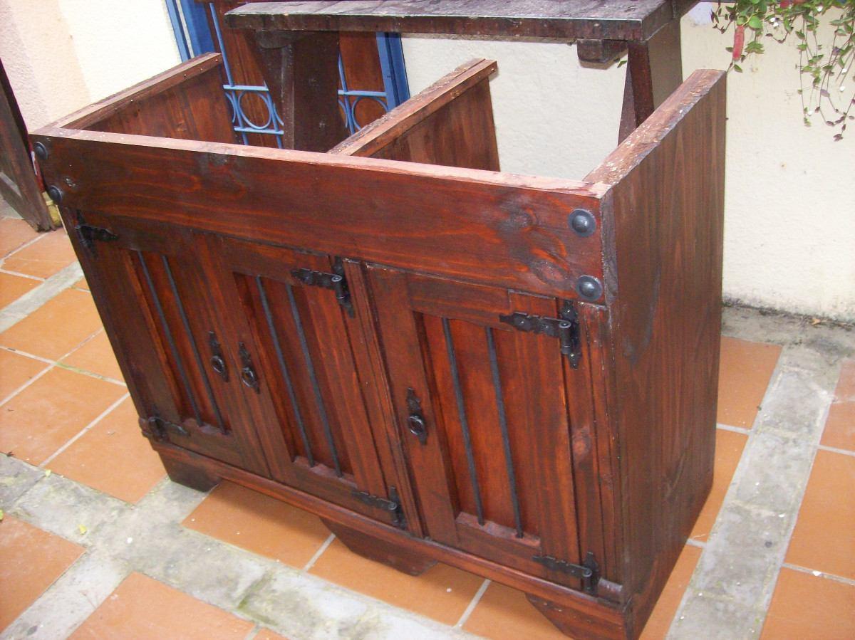 Muebles De Madera Maciza Uruguay | Espejo De Pie - $ 2.400 ...