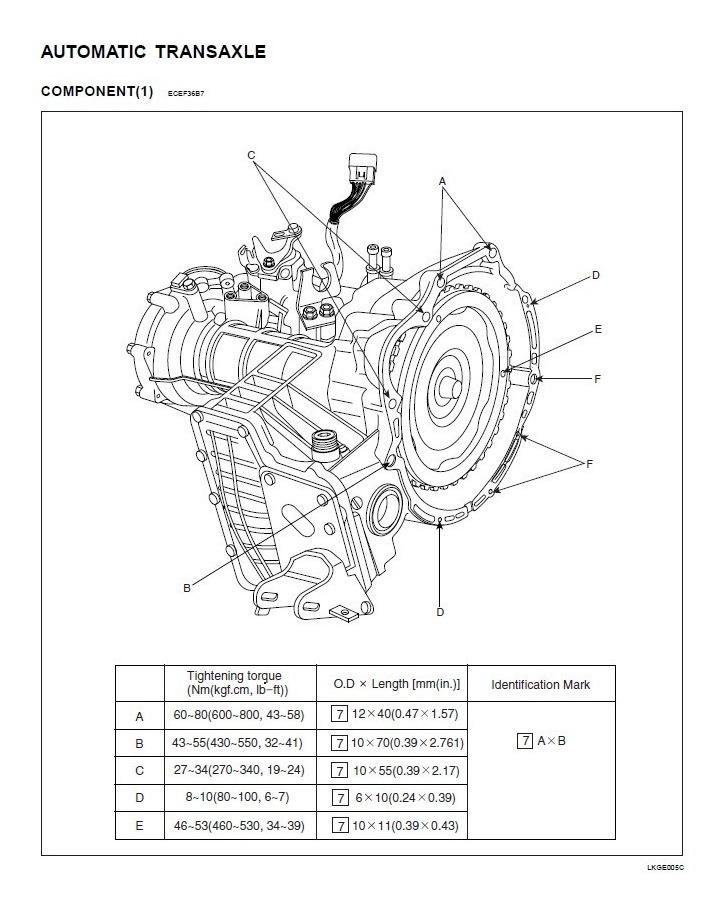 Caja A4af3 Automatica Manual Hyundai Accent Elantra Matrix