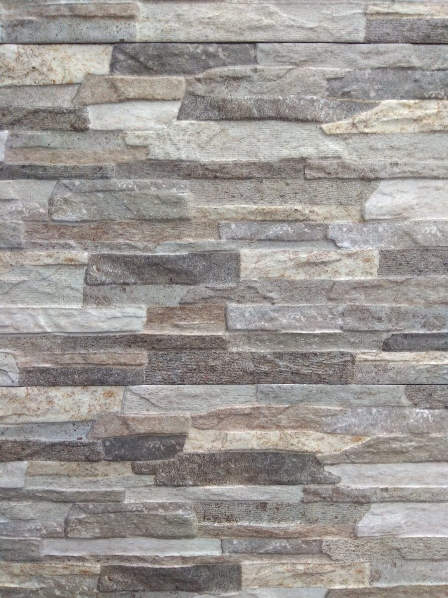 Ceramica Imitacion Piedra Gris 30x50 Cm   55000 en