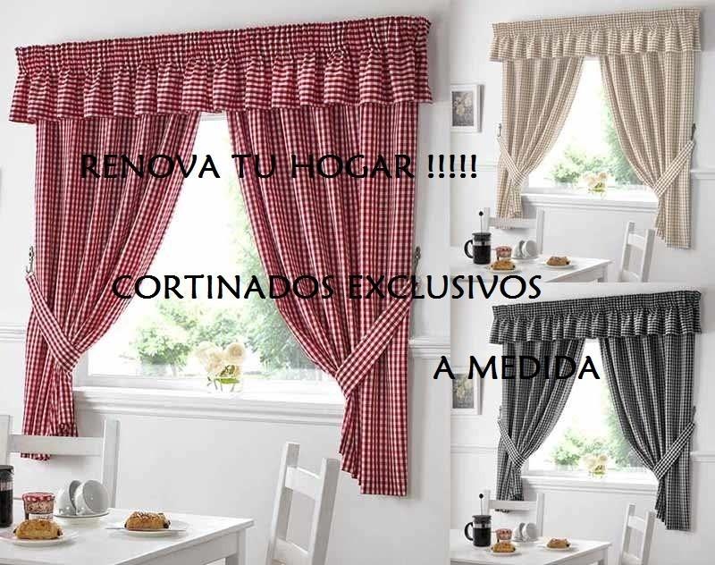 Exclusivas Cortinas De Cocina Preciosas    59000 en