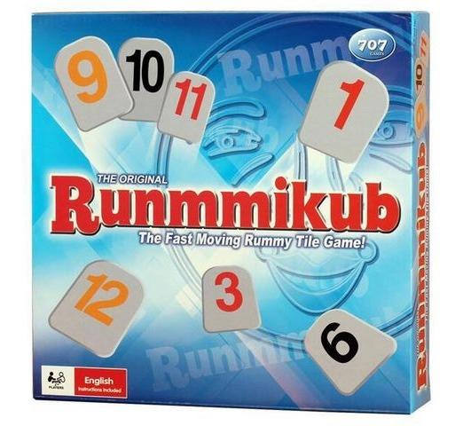 Juegos de mesa y estrategias. Juego Rummy En Caja - $ 345,00 en Mercado Libre