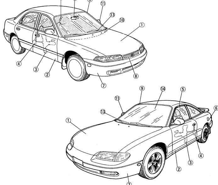 Mazda 626 Matsuri Mx-6 Manual Taller Diagramas 92 A 97