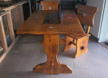Comedor Estilo Colonial Mexicano | Muebles De Madera Maciza Pino ...