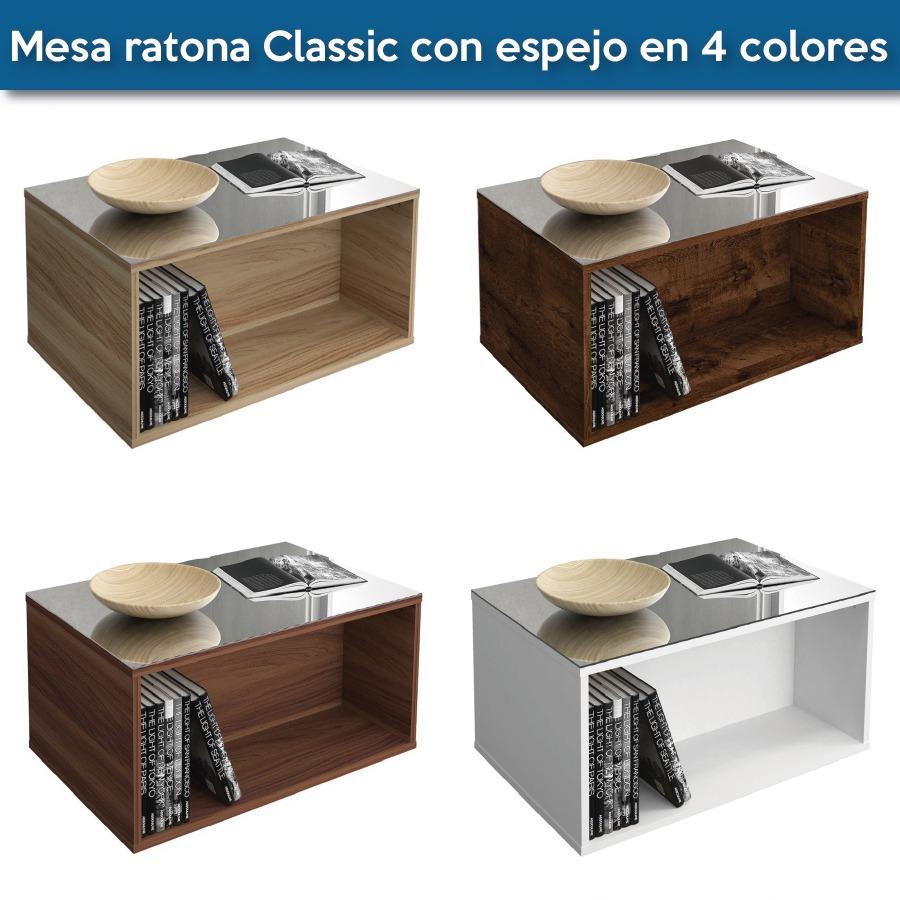 Mesa Ratona Classic Con Espejo 4 Colores  84900 en