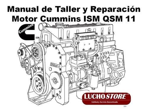 Motor Cummins Ism Qsm 11 Manual De Taller Reparacion