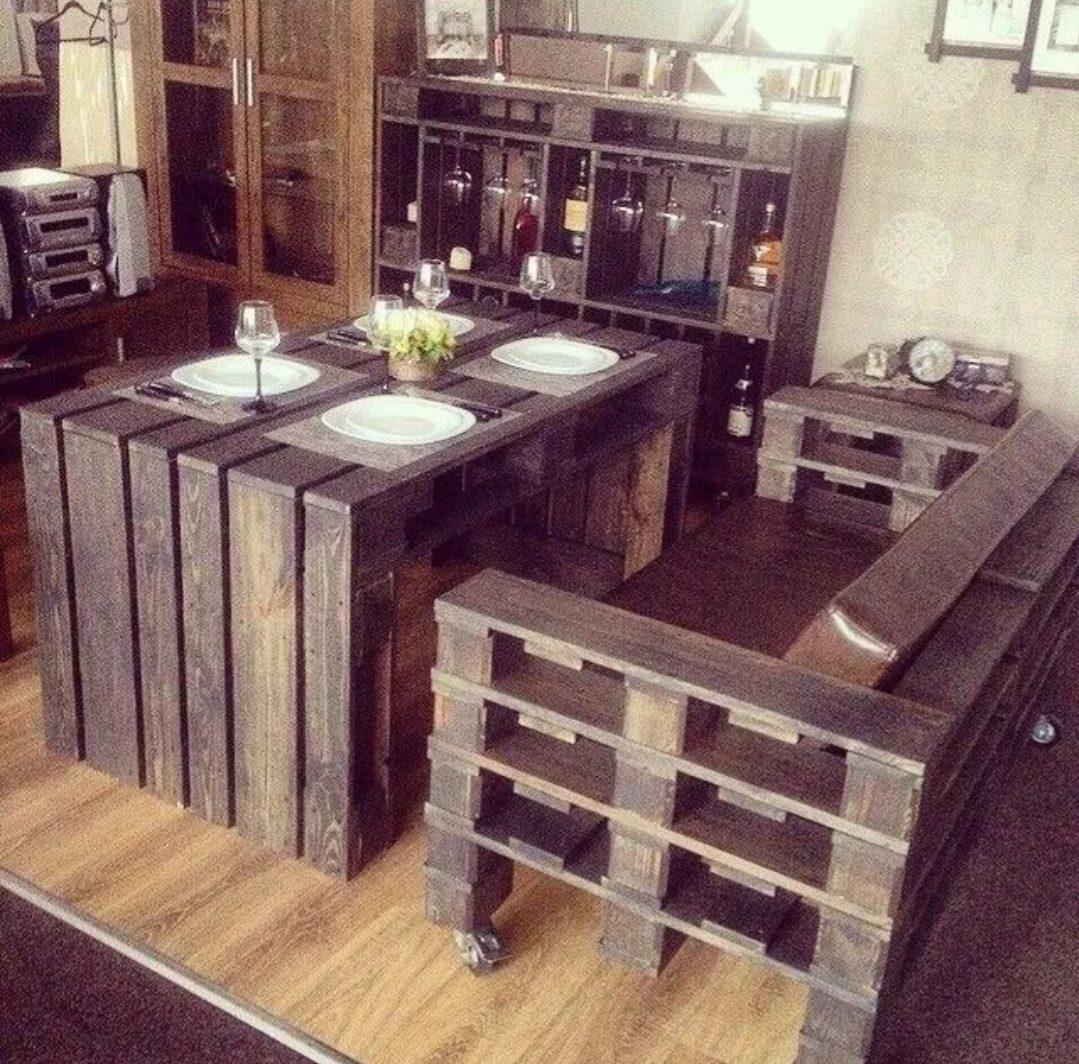 Muebles De Madera Palet Pallet   450000 en Mercado Libre