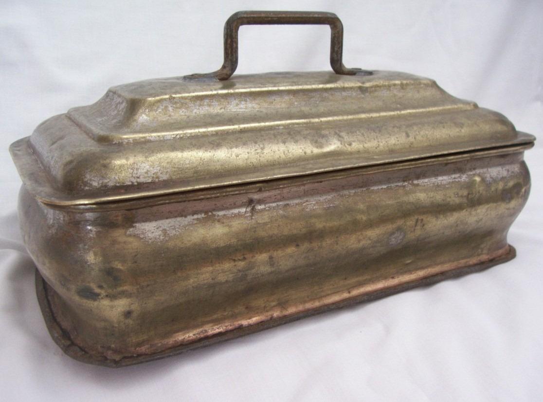 Muy Antiguo Tanque De Bronce Para Cocina Econmica  Lea