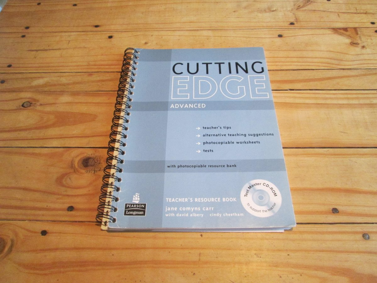 New Cutting Edge Advanced Teacher Book Con Cd Rom