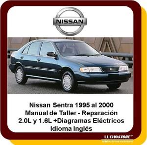 Nissan Sentra 952000 Manual Servicio Reparacio Diagrama