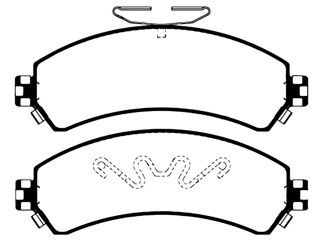Pastilla Freno Chevrolet S10 4x4 Blazer