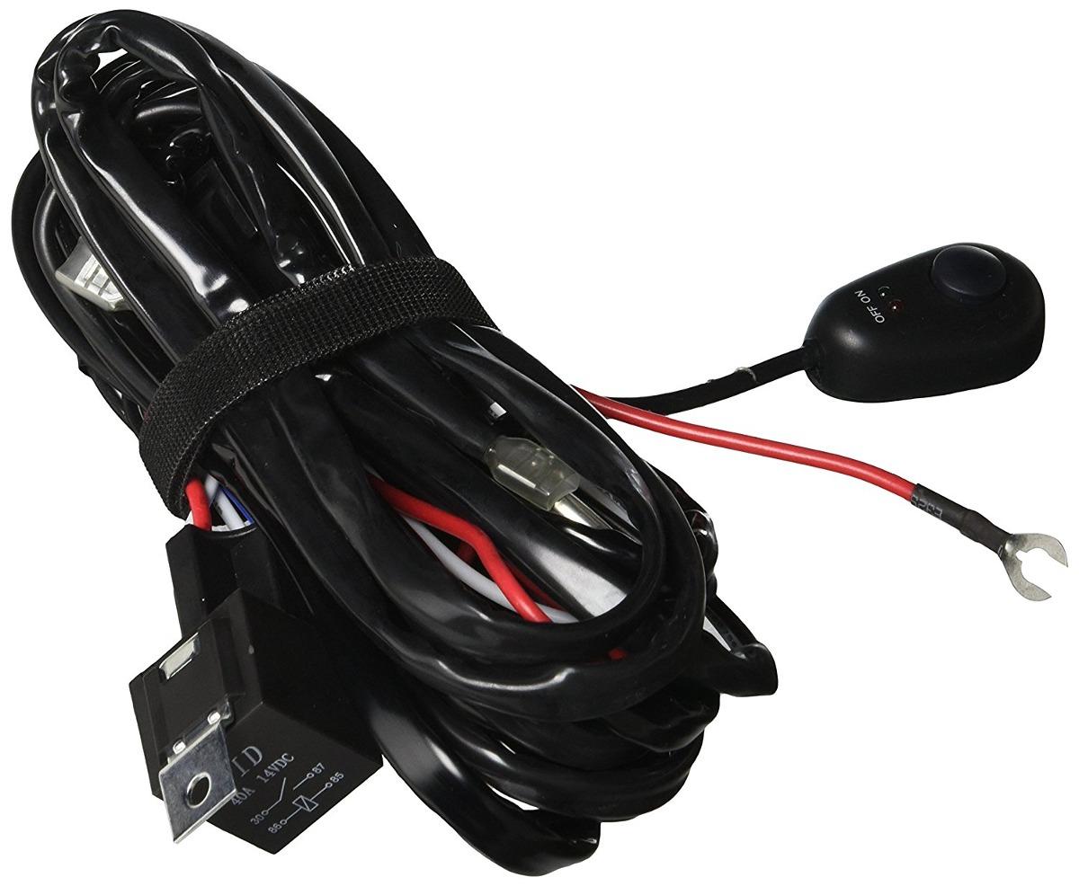 hight resolution of race sport universal light bar wire harness wit u s 117 00 en mercado libre