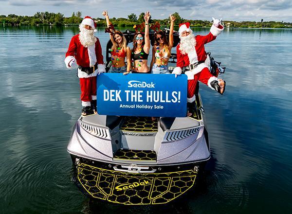 SeaDek Marine Products Dek the Hulls Sale 2018