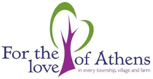 For the Love of Athens Logo