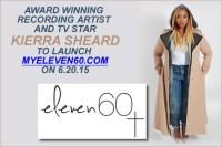 MYELEVEN60.com, Kierra Sheard's website for new plus size clothing line