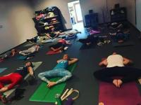 These yogis brought it today!! Thank you for a great practice- deanna @deannaleeking @yogaeastchatt