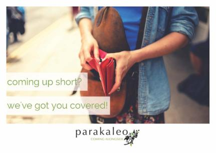 Coming up short? Parakaleo has you covered