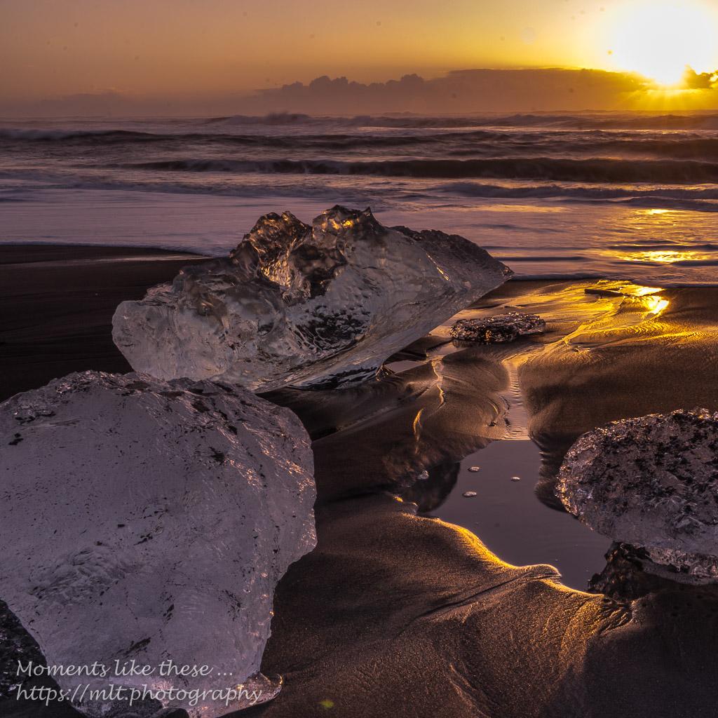 Jokulsarlon Glacier Beach