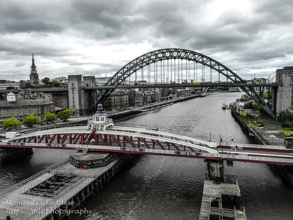 Swing Bridge and Tyne Bridge
