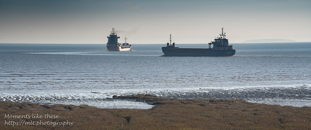 Leaving Newport Docks as the tide rises